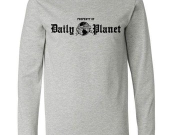 Daily Planet Superman Long sleeve