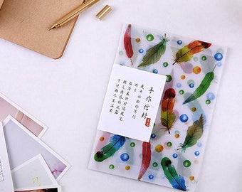 3 Pcs Envelopes Glassine Envelopes Clear Envelopes Envelopes Sets