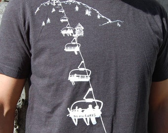 Chairlift tee