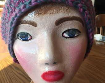 Slouchy hat, woman's hat, hat, slouchy beret, winter hat