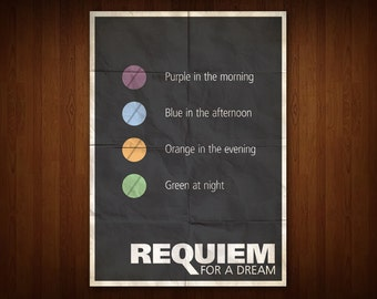 Requiem for a Dream Poster (Multiple Sizes)