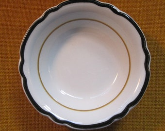 Walker China Vitrified Vintage Restaurant Ware Small Side Bowl