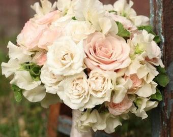 Rose Hydrangea Bridal Bouquet