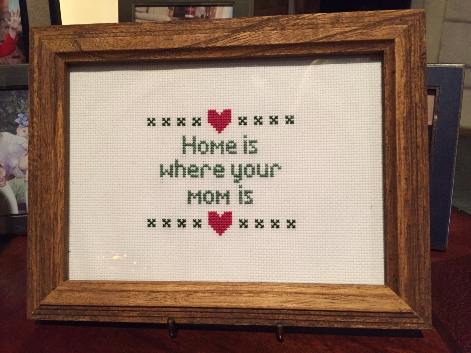 Fancy Home Is Where Your Mom Is Picture Frame Composition - Picture ...