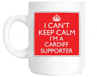 Cardiff Supporter Novelty Fun Mug CH314