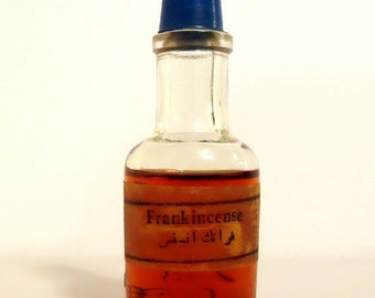 Antique Attar 1920s Frankincense by Chabrawichi Egyptian Pure Parfum Egypt Perfume Oil Non Alcoholic Ittar Islam