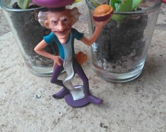 Purple Pie Man - Vintage Strawberry Shortcake Figure