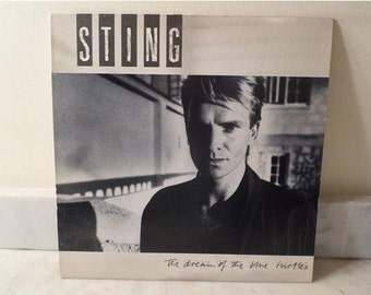 Vintage 1985 LP Record Sting The Dream of the Blue Turtles Excellent Condition 14344