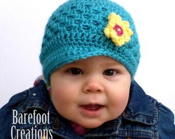 Lacey Newsboy Hat (Kiki Hat) - Custom Color Choice - Newborn - Adult