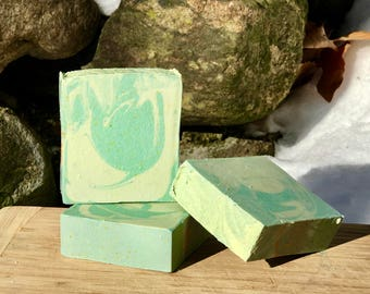 Backwoods Handmade Soap with Sea Clay and Aloe