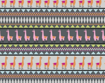 Springs Creative - Lllama Jersey KNIT - Fabric by the Yard