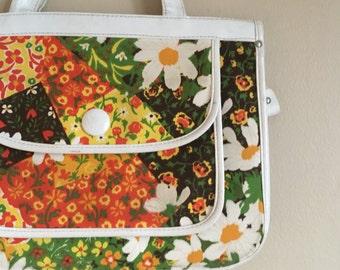 Mint Condition Patchwork Shoulder Bag / Purse