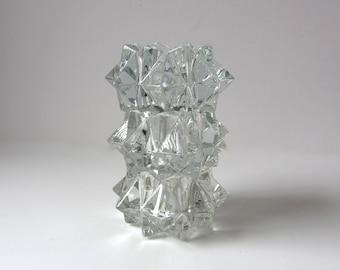 Set of 3 Starburst Crystal Votives