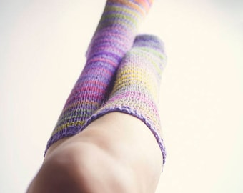 Luscious Long Socks. Pattern only
