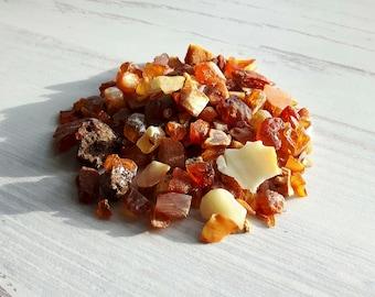 Baltic Amber Stones 1 oz,Genuine Baltic Amber,Baltic Amber Supplies