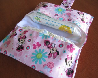 Minnie Mouse Diaper and Wipe Wallet
