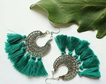 Bohemian / Tassel Earrings for  Summer Festival / accessories Gift / light weight
