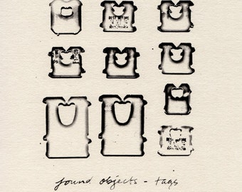 Found Objects - Tags (Limited Edition Print)