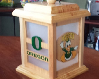 Oregon Ducks Lantern- Free Shipping