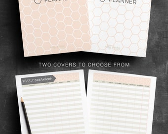 Finance Planner PRINTABLE planne pages Budget Planner Spending Tracker Savings Chart