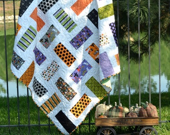 Super Sale, Costume Clubhouse Halloween Quilt, FREE US Shipping