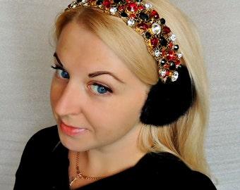 Fur Headphones-crown