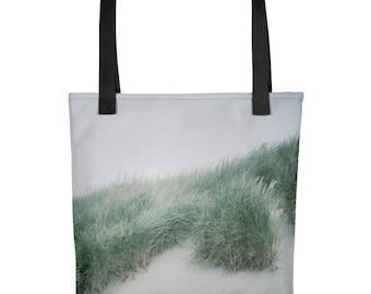 Beach Sand Dunes Tote Bag / Nature Tote / Reusable Tote Bag / Reusable Grocery Bag / Pacific Northwest Shoulder Bag / Beach Bag / Art Bag