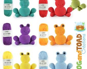 FROG - Amigurumi Crochet Kit - Pattern - Anura & Co