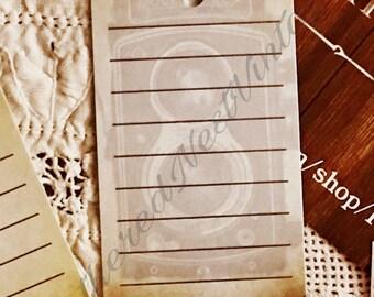 Vintage Camera Hang Tags / Journaling Cards