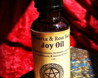 Joy Ritual Oil, witchcraft