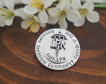 LPN Pin For Pinning Ceremony   Gift For LPN Nurse Graduate   Gifts For Nurses   LPN Nurse Pin   Nursing Pinning Ceremony   Nurse Graduations