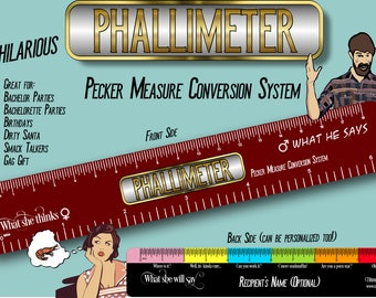 Phallimeter (Pecker Measure Conversion System)