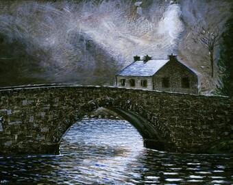 Lackagh Bridge, Donegal Ireland