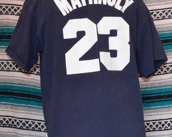 New York Yankees Don Mattingly Shirt Majestic Jersey