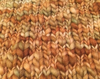Super Warm Malabrigo Aquarelle Cowl, Hand-knit