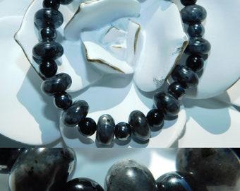 Labradorite Onyx Hematite Bracelet