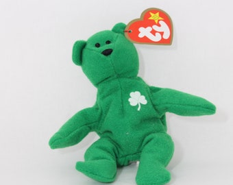 TY Teenie Beanie Babies- Erin the Bear - McDonalds Exclusive-