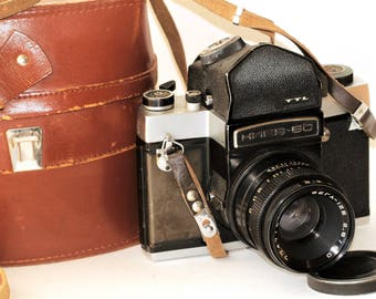 KIEV-6C Camera VEGA-12B 2.8/90 2,8 Lens #7706995 /sv