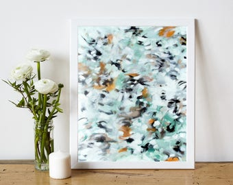 Abstract Printable Art - Abstract Art Print - Abstract Expressionist Painting Print - Contemporary Art - Modern Home Decor - 8x10 11x14