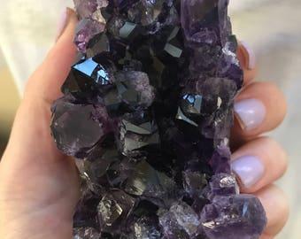 Uruguayan Amethyst Crystal Cluster