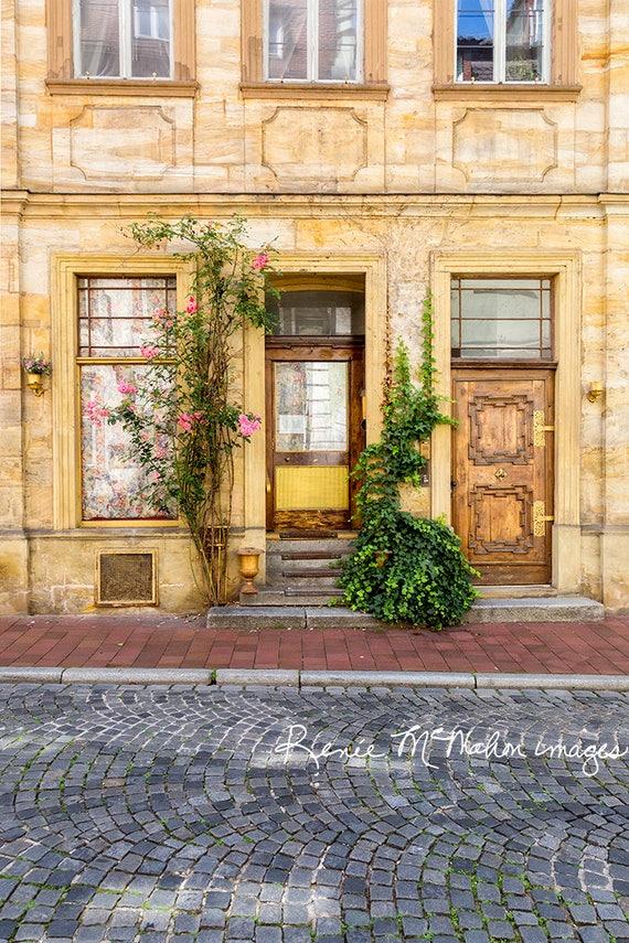 European Photography, Germany Art Print, Home Decor, Bamberg Germany, German  Decor, Large Wall Art, Fine Art, Travel Prints, Door Photo.