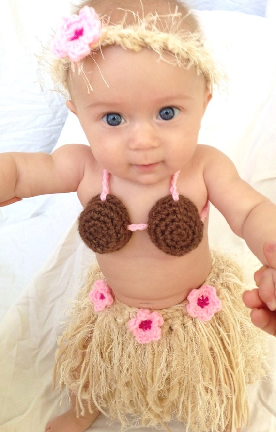 sc 1 st  Etsy & Baby Girl or Toddler Hawaiian HULA Dancer Island Photo Prop