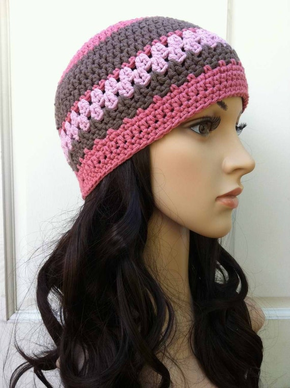 Ladies Crochet Hat Pattern Womens Beanie Pattern No 208