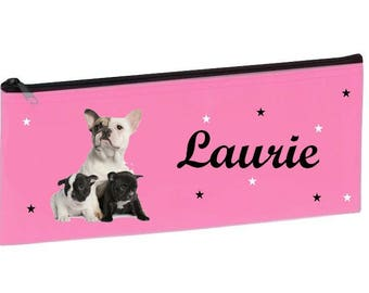 Personalized with name pink school Bouldogs Kit