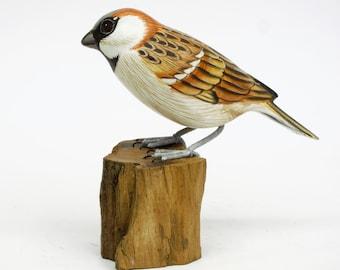 Orange Grey Head Bird #4 as Table Decoration (no 91)