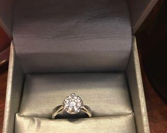 Quartz Engagment Ring
