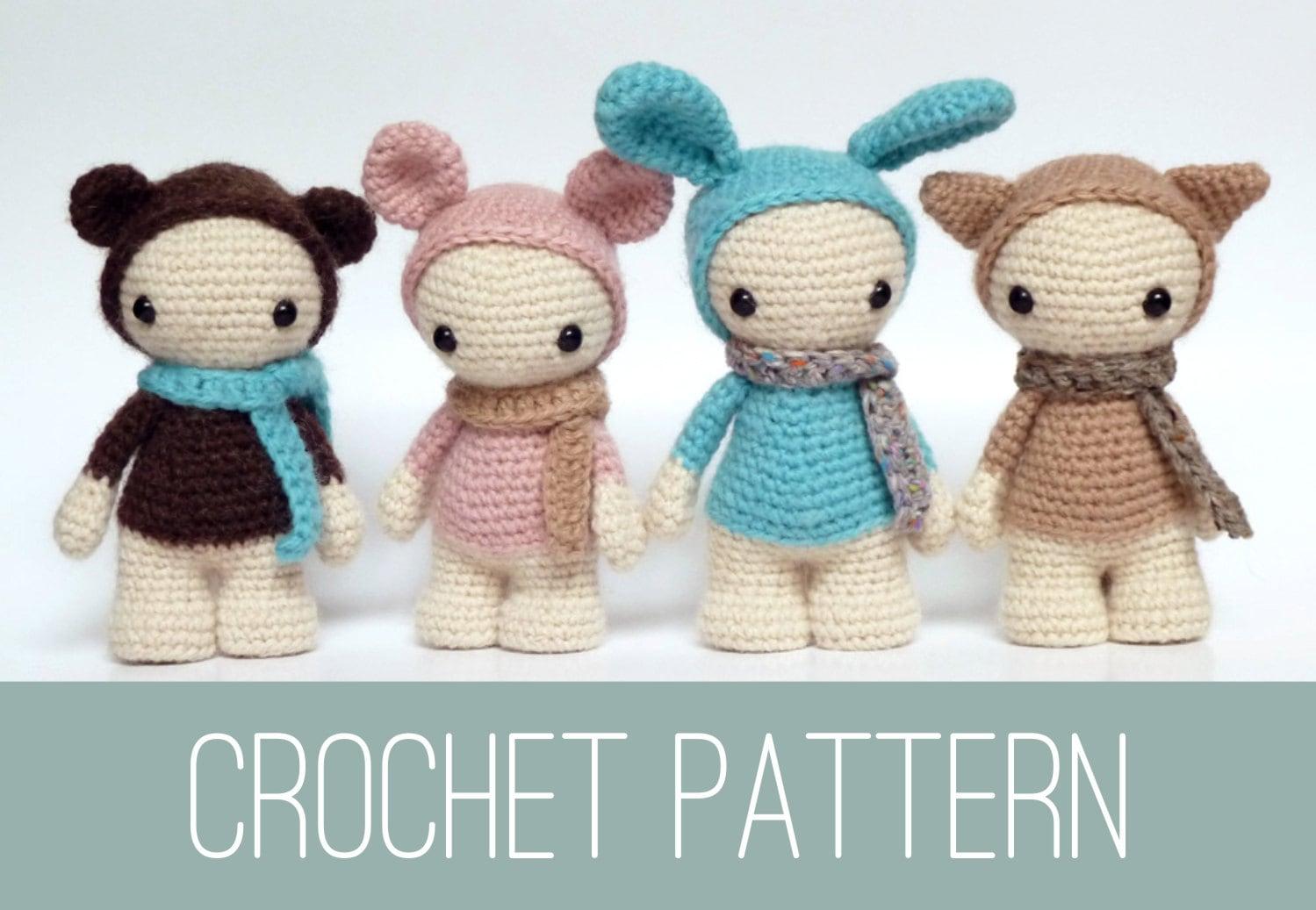Easy Amigurumi Crochet Patterns : Amigurumi doll crochet pattern crochet dolls pattern