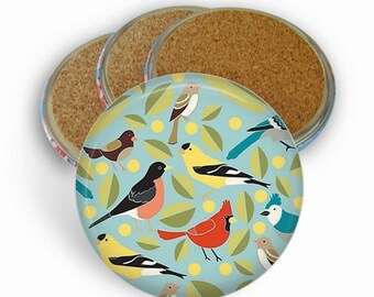 Bird Coasters - Drink Coasters