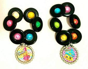 6 Shopkins Bracelets Party Favor, Shopkins Bracelet Party favors,