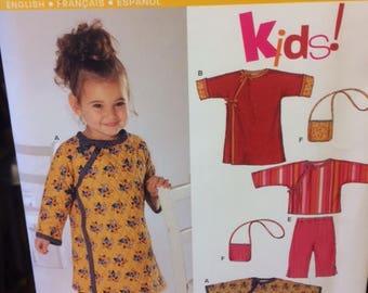 New Look Kids Pattern 6333 sizes 1/2-4